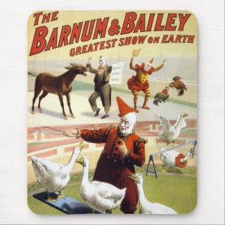 Barnum & Bailey - Wonderful Performing Geese Mouse Pad
