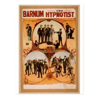 Barnum, 'The Hypnotist' Retro Theater Postcard