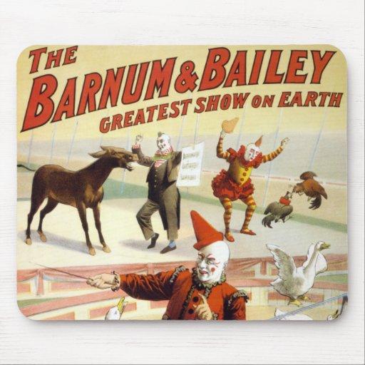 Barnum y Bailey - gansos de ejecución maravillosos Tapetes De Raton