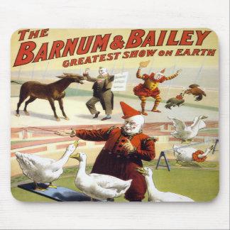 Barnum y Bailey - gansos de ejecución maravillosos Tapete De Ratón
