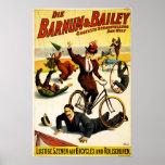 Barnum y circo de Bailey - circa 1900 - en alemán Impresiones