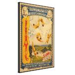Barnum y circo de Bailey - circa 1900 Lona Estirada Galerías