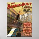 Barnum y el salto del forajido de Bailey para la v Póster