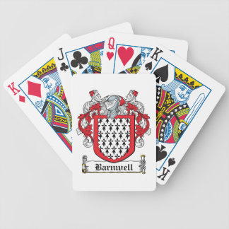 Barnwell Family Crest Bicycle Playing Cards