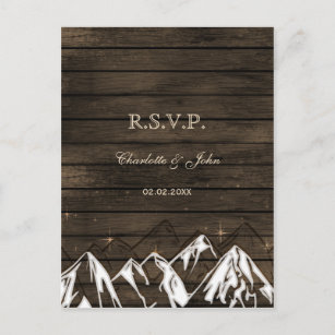 Wedding Invitation Postcards Zazzle