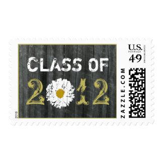 Barnwood & Daisy Class Of 2012 Graduation Postage