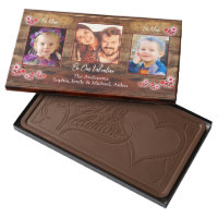 Barnwood floral hearts | Valentines Chocolate