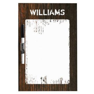 Barnwood Inspired Medium Dry Erase Board