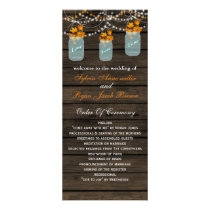 Barnwood mason jars, fall leaves programs