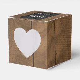 Barnwood Mini Wedding Tissue Boxes