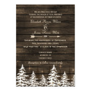Fall Leaves, Rustic Wedding invites by mgdezigns
