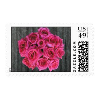 Barnwood y rosas de las rosas fuertes envio
