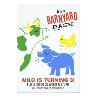 Barnyard Bash Card