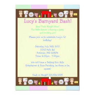 Barnyard Bash! Card