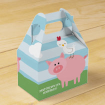 Barnyard Birthday Bash/Party Favor Box