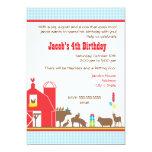 Barnyard Birthday Invitation