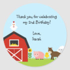 Barnyard Buddies Sticker