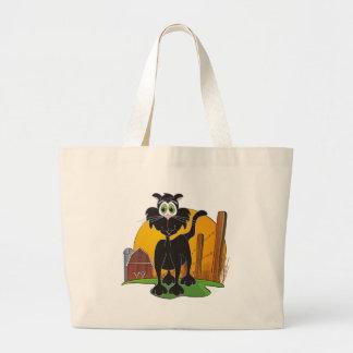 Barnyard Cat Tote Bags
