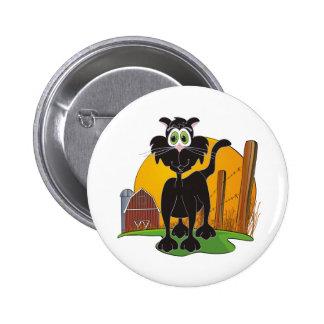 Barnyard Cat Buttons