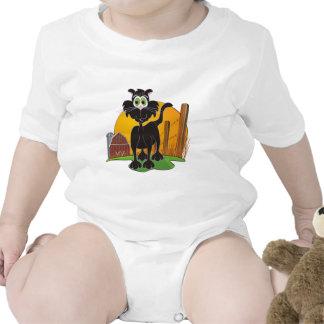 Barnyard Cat Baby Bodysuits