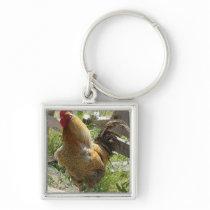 Barnyard Chicken Keychain