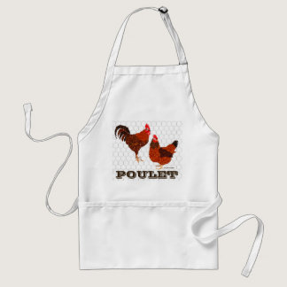 Barnyard Chickens Adult Apron