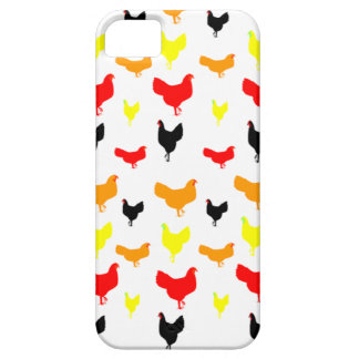 Barnyard Chickens iPhone SE/5/5s Case