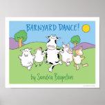 BARNYARD DANCE! poster by Sandra Boynton