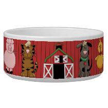 Barnyard Dog Bowl
