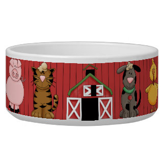 Barnyard Dog Bowl