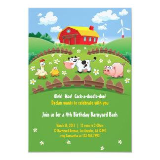 Farm Birthday Invitations & Announcements | Zazzle