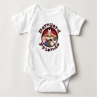 Barnyard Friends Baby's T-Shirt