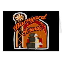 Barnyard Friends Card