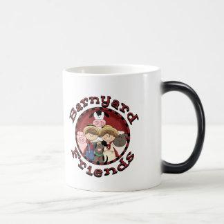 Barnyard Friends Magic Mug
