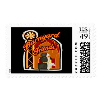 Barnyard Friends Postage Stamp