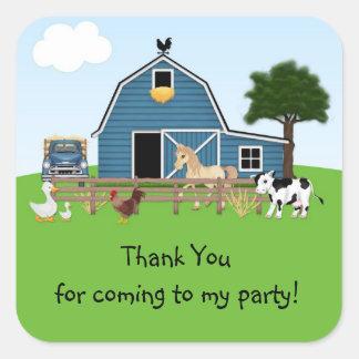 Barnyard Friends Sticker