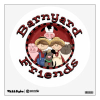 Barnyard Friends Wall Decal