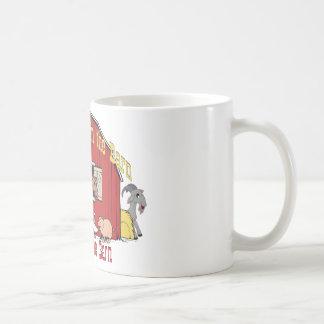 Barnyard Goat Classic White Coffee Mug