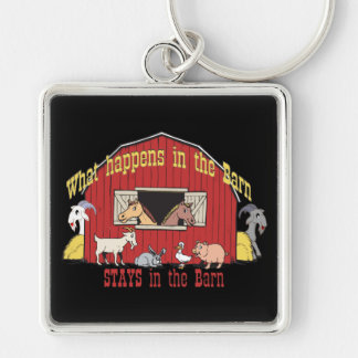 Barnyard Goat Key Chains