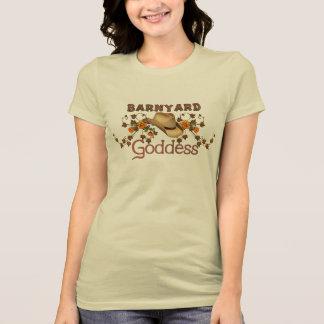 Barnyard Goddess Orange Blossoms Tee