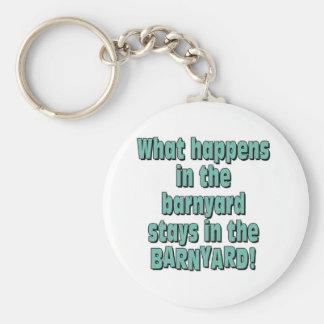 Barnyard Keychain