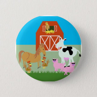Barnyard Party Button