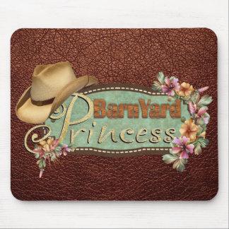 BarnYard Princess Simulated Leather Mousepad