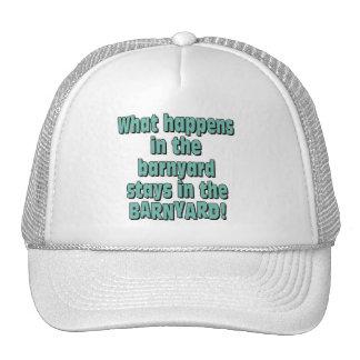 Barnyard Trucker Hat