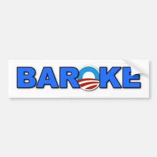 BAROKE BUMPER STICKER