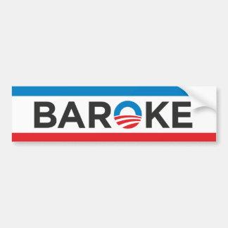 BAROKE ETIQUETA DE PARACHOQUE