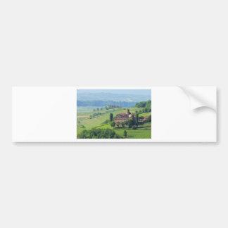 Barolo castello Volta Bumper Sticker