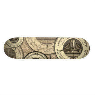 Barometer Vintage Tool Dictionary Art Skateboard Deck