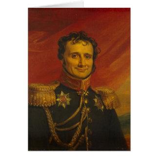 Barón Antoine-Enrique Jomini, por George Dawe Tarjeta De Felicitación