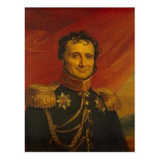Baron Antoine-Henri Jomini, by George Dawe Postcard